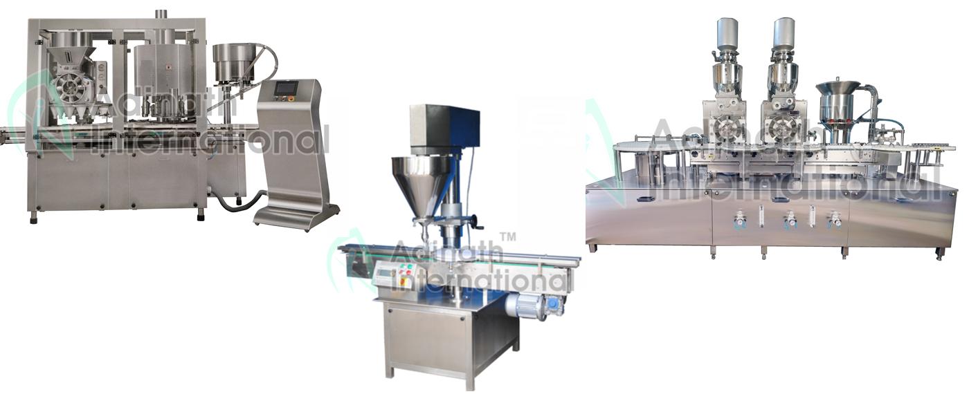 Comprehensive Range of Powder Filling Machines