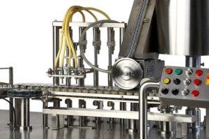 vial liquid filling process