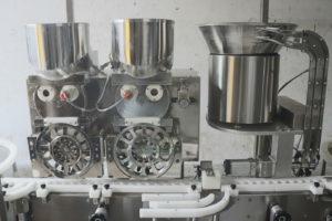 Vial powder filling process